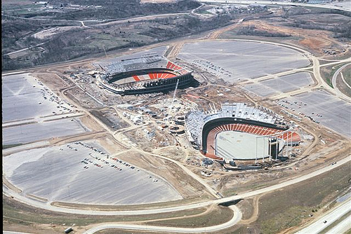 Arrowhead Stadium Kansas City Chiefs Football Stadium