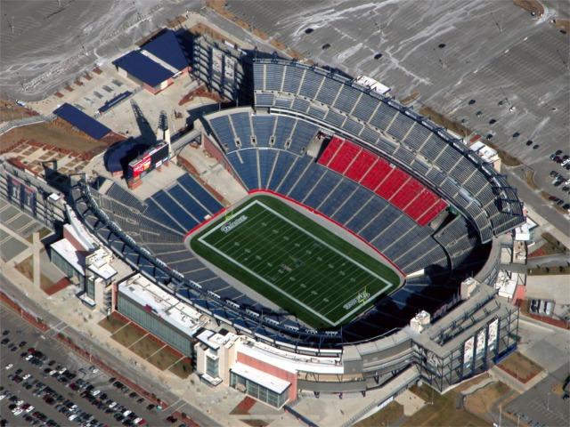 Gillette Stadium New England Patriots Football Stadium