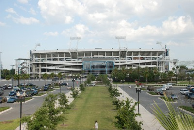 Stadiums Of Pro Football Jacksonville Municipal Stadium Super Bowl Xxxix