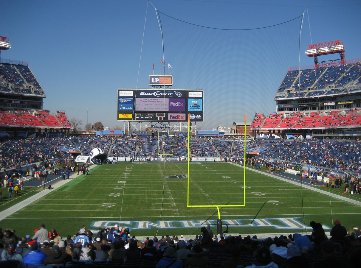 Nissan Stadium, Tennessee Titans football stadium ...