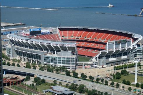 Stadium Aerial View Aerial of Firstenergy Stadium
