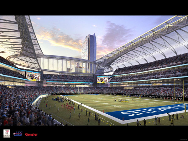 Future Nfl Stadiums Stadiums Of Pro Football