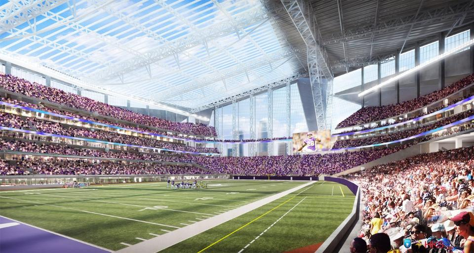 Us Bank Stadium Information Renderings And More Of A