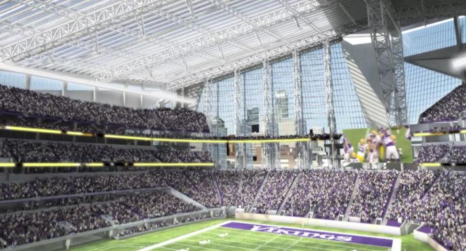 Pics Photos - Minnesota Vikings Vikings Nfl Stadium Football