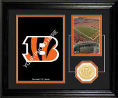 "Cincinnati Bengals ""Fan Memories"" Desktop Photo Mint"
