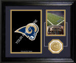 "St. Louis Rams ""Fan Memories"" Desktop Photo Mint"