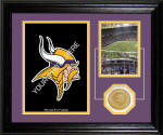 "Minnesota Vikings ""Fan Memories"" Desktop Photo Mint"