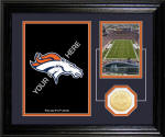 "Denver Broncos ""Fan Memories"" Desktop Photo Mint"