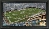 EverBank Field - Signature Gridiron Poster