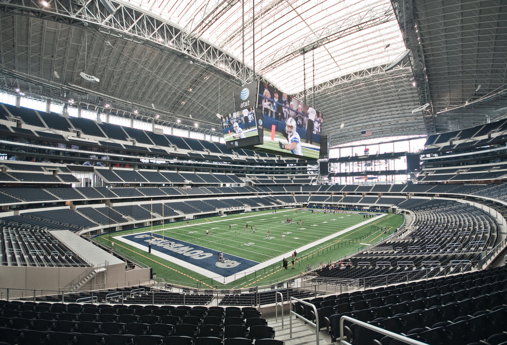 At Amp T Stadium Dallas Cowboys Football Stadium Stadiums
