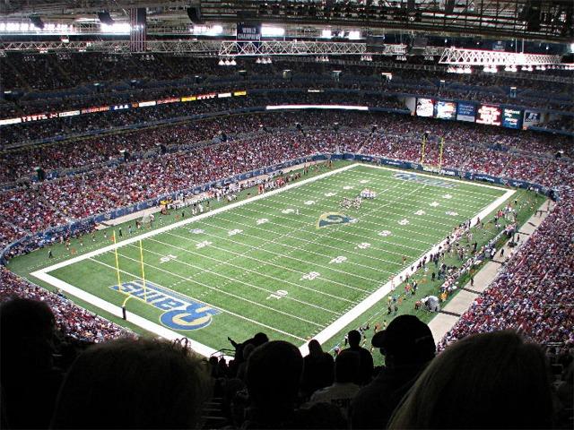 Edward Jones Dome St Louis Rams Football Stadium
