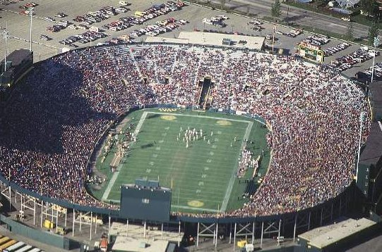 Lambeau Field Green Bay Packers Football Stadium