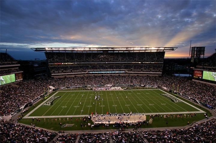 Lincoln Financial Field Philadelphia Eagles Football