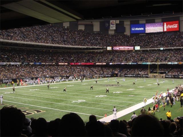 Mercedes Benz Of Denver >> Mercedes-Benz Superdome, New Orleans Saints football stadium - Stadiums of Pro Football