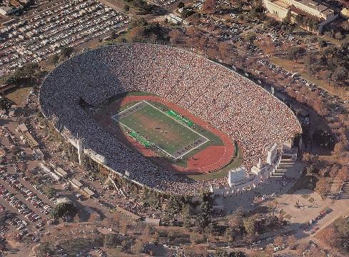 Seating Chart Los Angeles Coliseum Los Angeles Coliseum