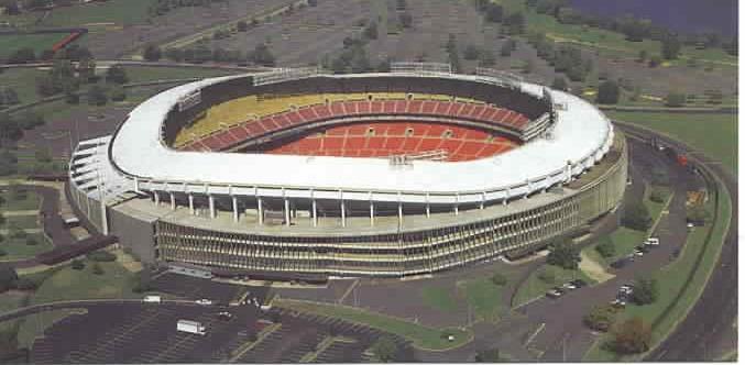 Stadium Aerial View Aerial of Rfk Stadium View