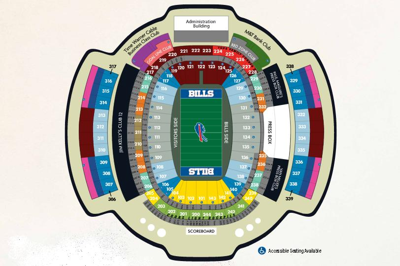 Nissan New Orleans >> NFL Stadium Seating Charts, Stadiums of Pro Football