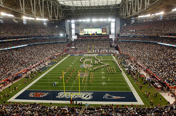 Super Bowl Stadiums, Stadiums of Pro Football