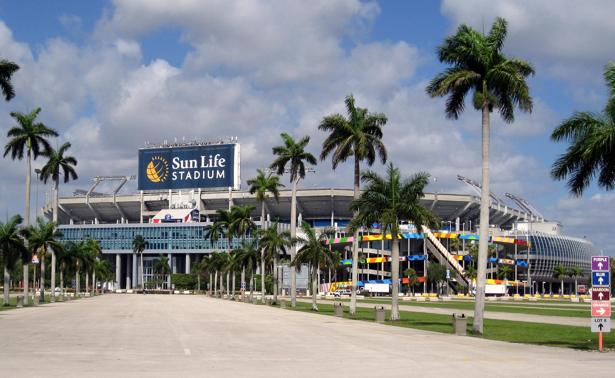 Hard Rock Stadium Miami Dolphins football stadium Stadiums of