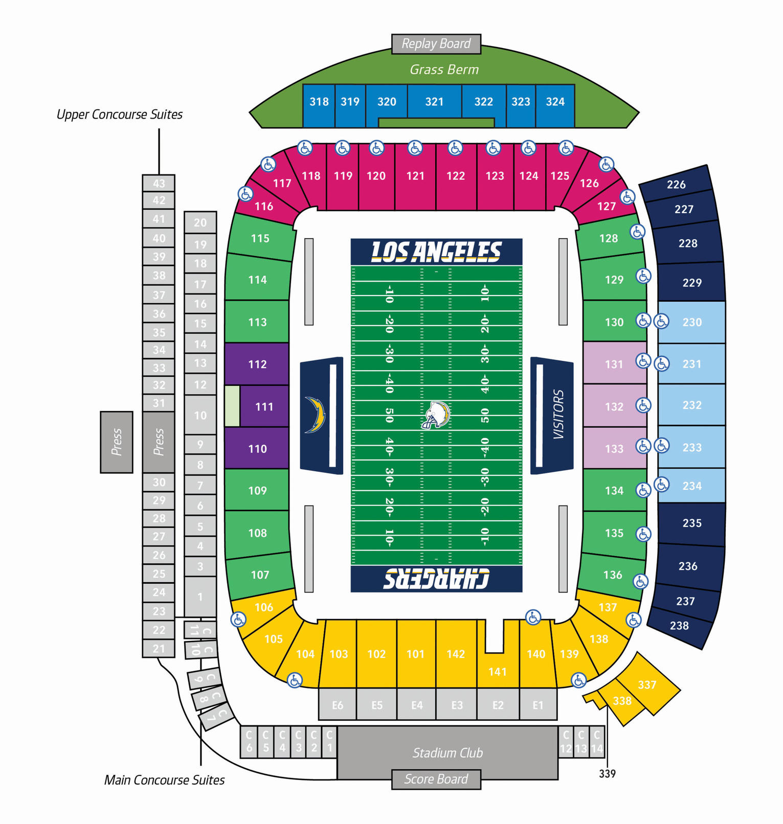 100 Centurylink Field Seating Map Centurylink Field