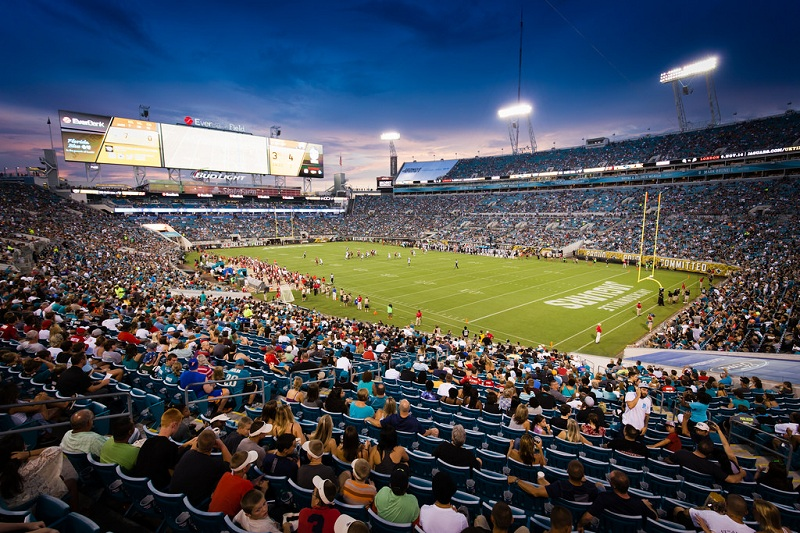 Tiaa Bank Field Jacksonville Jaguars Football Stadium