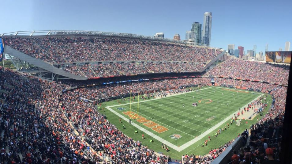 Soldier Field, home of the Chicago Bears