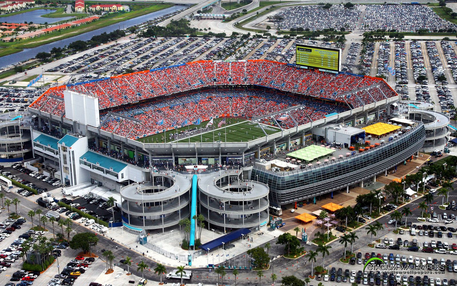 hard rock stadium, miami dolphins football stadium