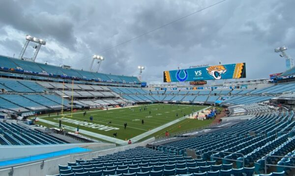 TIAA Bank Field, home of the Jacksonville Jaguars