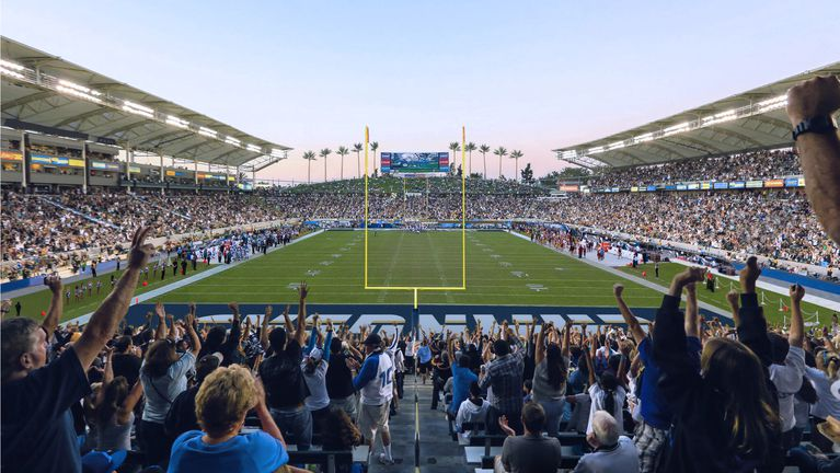 Here S What A Chargers Game At Stubhub Center Will Look