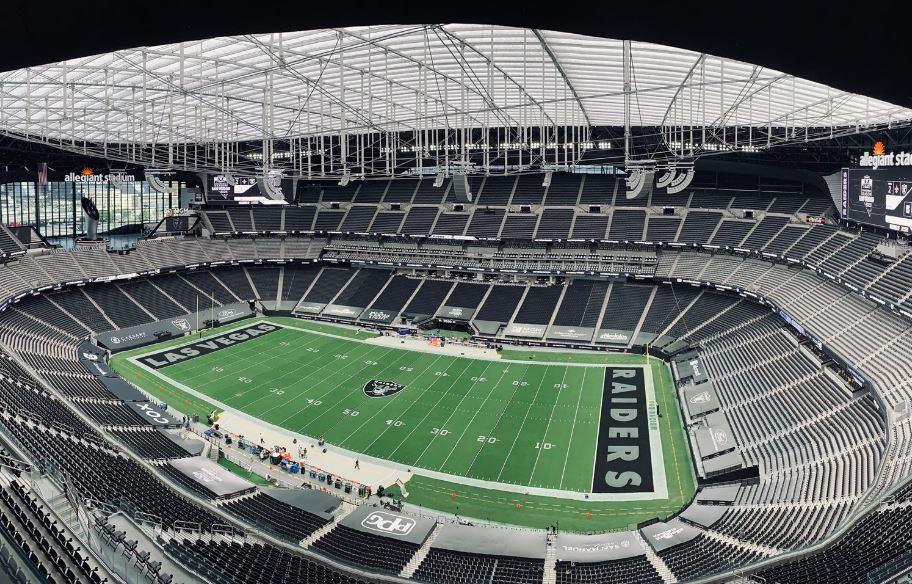 Allegiant Stadium Las Vegas Raiders Football Stadium