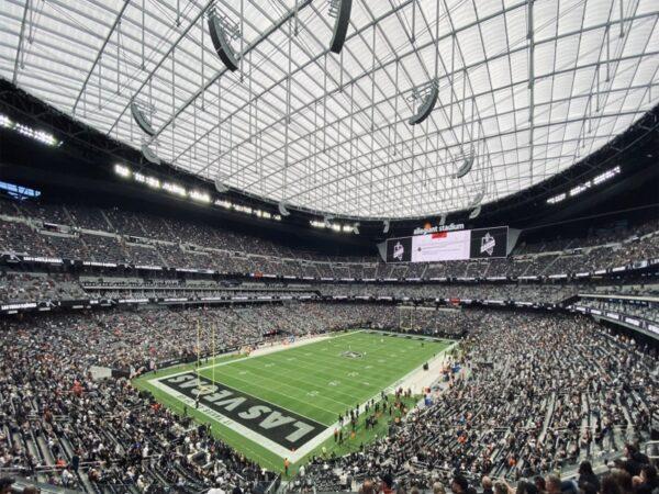 Allegiant Stadium, home of the Las Vegas Raiders