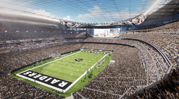 Las Vegas Stadium, future home of the Las Vegas Raiders