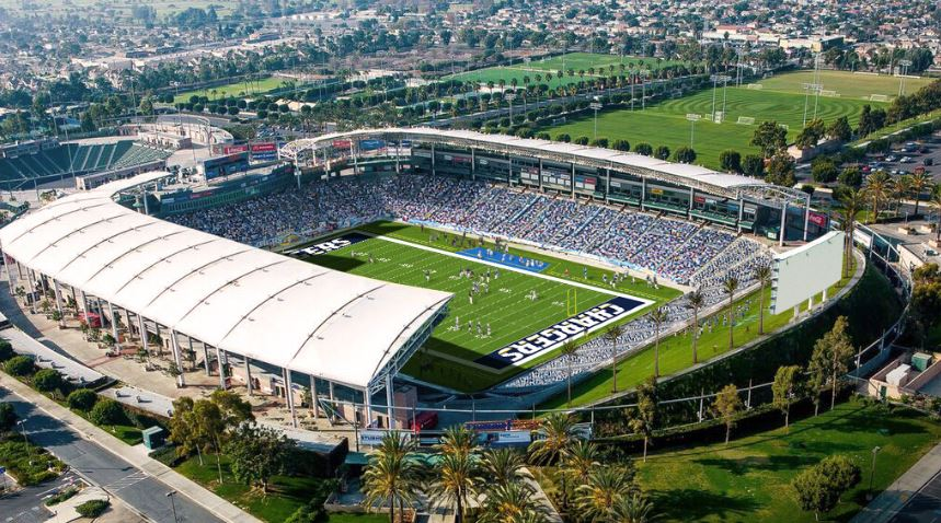 StubHub Center, home of the Los Angeles Chargers