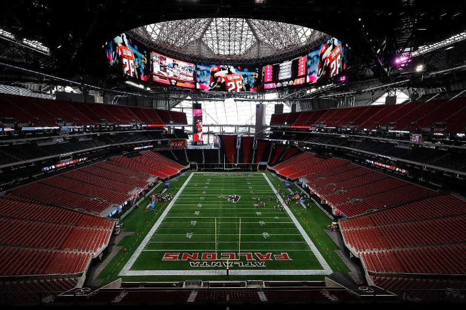 Georgia Dome Stadium >> What Makes The Atlanta Falcons' New Stadium The Best Ever - Stadiums of Pro Football - Your ...